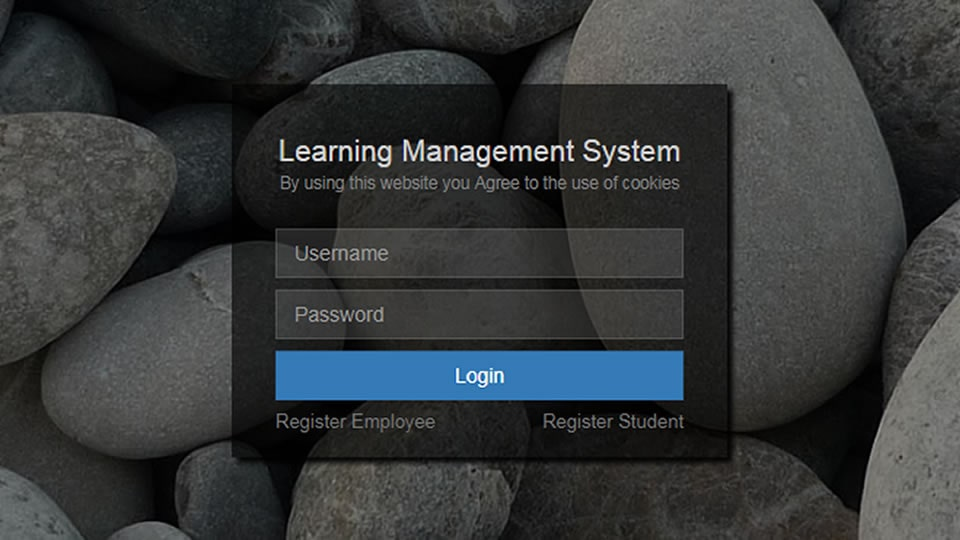 Learning Management System project thumbnail to demonstrate knowledge around complex bespoke system development